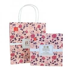 2017年下关 珍瑰(玫瑰普洱熟茶) 熟茶 礼盒 调味茶 200克/盒