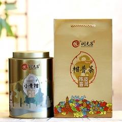 2017年润元昌 凤凰新会小青柑陈皮柑普茶 (阿柑先生) 熟茶 250克/罐
