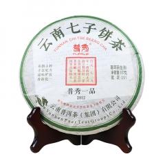 2012年普秀 普秀一品 (泡饼)生茶 357克/饼