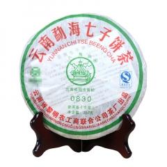 2008年八角亭 0830 生茶 357克/饼