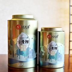 2017年润元昌 凤凰新会小青柑陈皮柑普茶 (阿柑先生) 熟茶 500克/罐