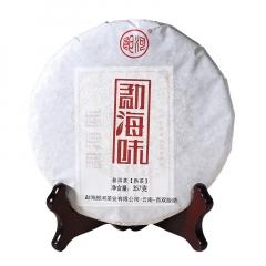 2017年郎河 勐海味 熟茶 357克/饼 单片