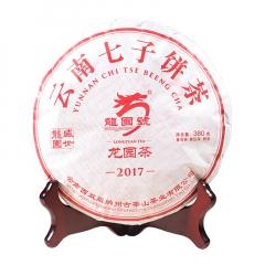 2017年龙园号 云南七子饼 熟茶 380克/饼