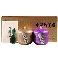 2017年中茶 铃子罐 大树宫廷 熟茶 200克/盒
