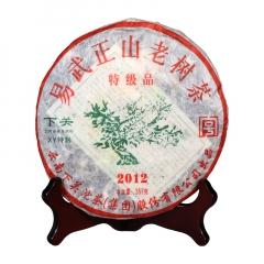 2012年下关 易武正山老树茶(XY特制) 生茶 357克/饼