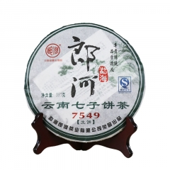 2007年郎河 7549 生茶 357克/饼 单片