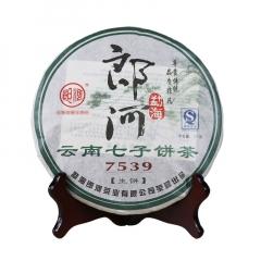 2007年郎河 7539 生茶 357克/饼 单片