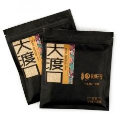 和轩号 大渡口陈皮普洱小方砖 熟茶 100克/砖
