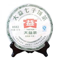 2011年大益 8582 生茶 357克
