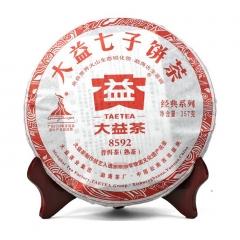 2010年大益 8592 熟茶 002批 357克