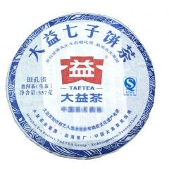 2012年大益 银孔雀 201批 生茶 357克