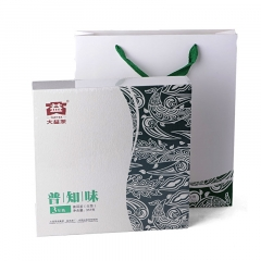 2012年大益 普知味三年陈礼盒 201批次 生茶 357克/盒