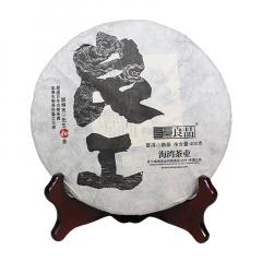 2017年老同志 良品良工 熟茶 400克/饼