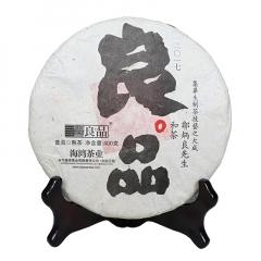 2017年老同志 良品 熟茶 400克/饼