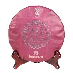 2017年中茶 紫茗春色(礼盒装) 紫娟 熟茶 357克/盒