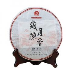 2017年云章 岁月陈香 熟茶 357克/饼 单片