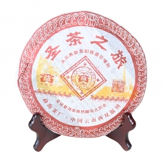 2005年大益 圣茶之旅 501批次 熟茶 357克/饼