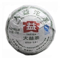 2012年大益 青沱(甲) 201批 生茶 100克/沱