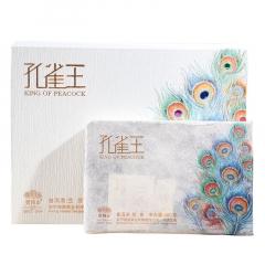 2017年老同志 孔雀王 生茶 300克/砖