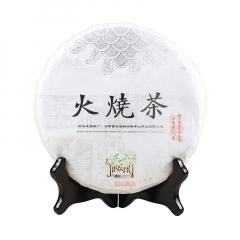 2017年龙园号 几棵树系列·火烧茶 生茶 357克/饼