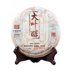 2015年圣和 大叶醇 熟茶  357克/饼