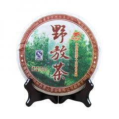 2008年龙园号 野放茶 熟茶 357克/饼