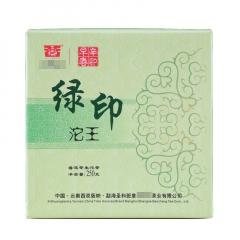 2012年圣和 绿印青沱 生茶 250克/沱