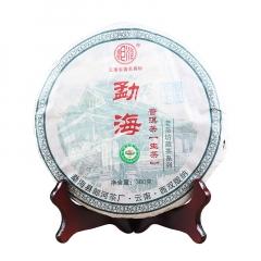 2006年郎河 勐海饼茶 生茶 380克/饼