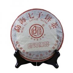 2005年郎河 陈醇 熟茶 357克/饼