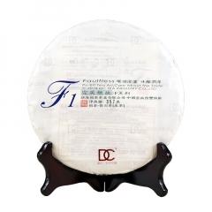 2016年巅茶  F1  生茶  357克/饼