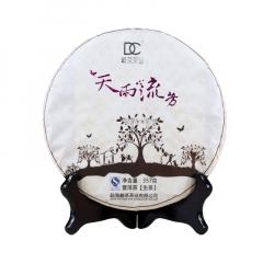 2012年巅茶 天雨流芳 生茶 357克/饼