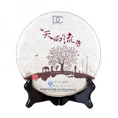 2013年巅茶 天雨流芳 生茶 357克/饼