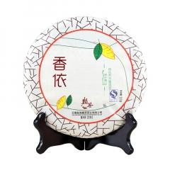 2012年巅茶 香依(景迈古树早春) 生茶 357克/饼
