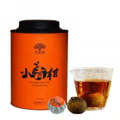 2017年洪普号 新会小青柑(陈皮普洱柑普茶) 熟茶 300克/罐 1罐