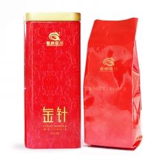 茗纳百川 金针滇红 红茶 65克/罐
