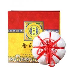 2017年中吉号 金瓜贡茶礼盒 生茶 1.6kg/盒