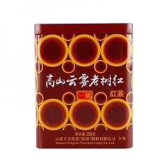 2017年下关 高山云雾老树红 红茶 200克/罐
