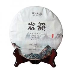 2018年汇满鑫 岩韵 古树头春茶 生茶 357克/饼