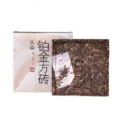 大益 铂金方砖 生茶 60克/片 单片