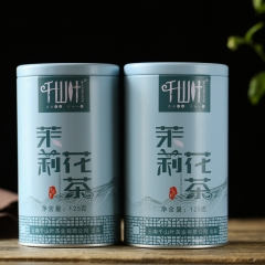 千山叶 茉莉花茶 125克/罐 1罐