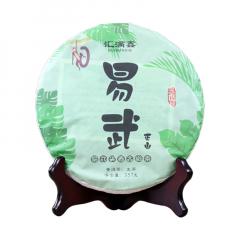 2018年汇满鑫 易武正山 生茶 357克/饼