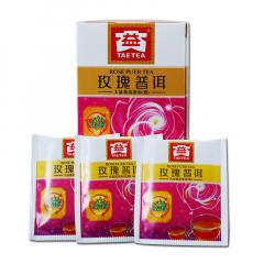 大益 玫瑰普洱(袋泡装) 熟茶 40克/盒