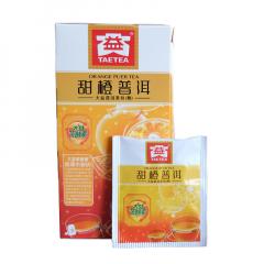 大益 甜橙普洱(袋泡装) 熟茶 40克/盒