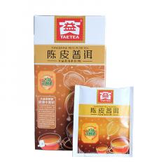 大益 陈皮普洱(袋泡装) 熟茶 40克/盒