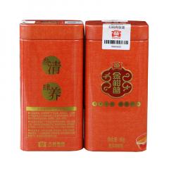 2018年大益 金柑普(陈皮普洱柑普茶散装) 熟茶 80克/罐