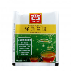 大益 经典普洱(袋泡装)生茶 1.8克/袋 1袋