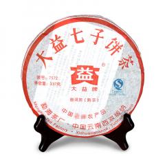 2007年大益 7572 熟茶 357克/饼