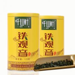 [买一送一]千山叶 铁观音乌龙茶  125克/罐 2罐