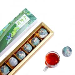 2018年洪普号 小青柑普洱茶 熟茶  70克/盒 1盒