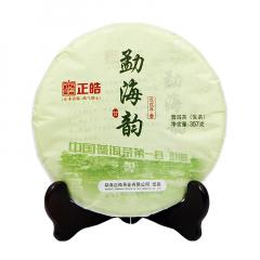 2018年正皓 勐海韵 生茶 357克/饼